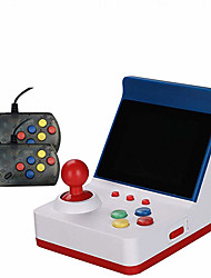 cheap -A6 Mini Retro Arcade Game Console 3.0 Inch 32 Bit Classic Games with 2 Controller