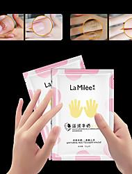 cheap -3Pcs/LAMILEE Milk Moist Hand Skin Care Hand Mask Moisturizing Glove Whitening Exfoliating Calluses Anti Chapping Care Tender