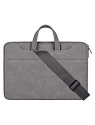 cheap -Pu Leather Laptop Carrying Case Travel Briefcase With Organizer Expandable Large Hybrid Shoulder Bag