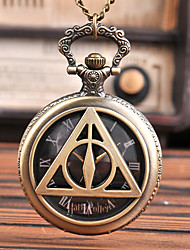 cheap -Men's Pocket Watch Quartz Vintage Style Vintage Creative Analog Bronze