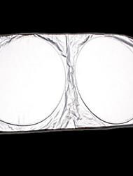 Недорогие -большой размер автомобиля солнцезащитный крем с серебряным покрытием двойной петли ультра сильный автомобильный солнцезащитный крем