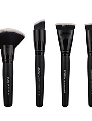 cheap -Professional Makeup Brushes 4pcs Professional Soft Cool Comfy Wooden / Bamboo for Makeup Brush