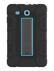 cheap -Phone Case For Samsung Galaxy Back Cover galaxy tab T810 T815 T813 galaxy tab A 9.7 T550 T555 galaxy tab S2 9.7 T813N T819N T810 T815 Galaxy S3 T820 9.7 Shockproof with Stand Solid Colored PC