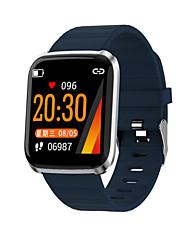 Недорогие -116pro смарт-часы BT поддержка фитнес-трекер уведомить / монитор сердечного ритма Спорт SmartWatch совместимый iPhone / Samsung / Android телефоны