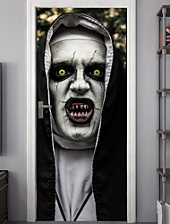 cheap -Halloween Decorations Wall Stickers Holiday Wall Stickers Decorative Wall Stickers, PVC Home Decoration Wall Decal Wall Decoration 2pcs