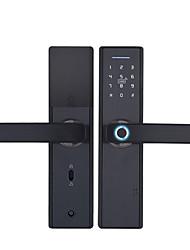 cheap -Factory OEM S520 Zinc Alloy lock / Fingerprint Lock / Intelligent Lock Smart Home Security Android System RFID / Fingerprint unlocking / Password unlocking Home / Office / Hotel Wooden Door