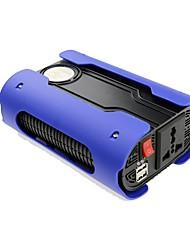 Недорогие -синий 500 Вт чистый синусоидальный инвертор DC12-AC220V / 110 В с 2 USB и универсальный разъем питания инвертор