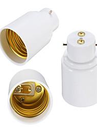 cheap -B22 to E27 Screw Socket LED Halogen Light Bulb Lamp Holder Converter Adapter