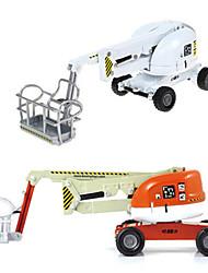abordables -KDW 1:74 Plastique ABS Cueilleur de cerises Camions Véhicules de Construction Petites Voiture Enfant Jouets de voiture
