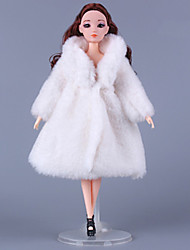 cheap -Doll Dress Doll Outfit Casual For Barbiedoll Polyester Skirts / Top / Skirt For Girl's Doll Toy