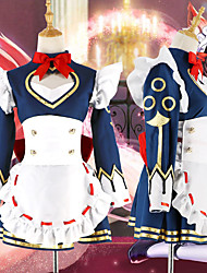 cheap -Inspired by King of Glory Cosplay Anime Cosplay Costumes Japanese Cosplay Suits Dress For Women's