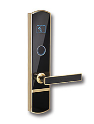 cheap -Factory OEM PRND-RF220 Zinc Alloy Card Lock Smart Home Security System RFID Hotel Wooden Door (Unlocking Mode Card)