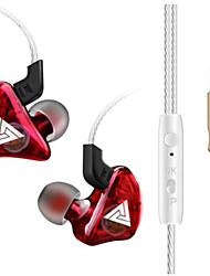 Недорогие -LITBest QKZ-CK5 Наушники-вкладыши Проводное EARBUD С подавлением шума Стерео С микрофоном