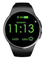 cheap -Smartwatch Digital Modern Style Sporty Silicone 30 m Water Resistant / Waterproof Heart Rate Monitor Bluetooth Digital Casual Outdoor - Black Golden Silver