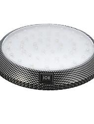 Недорогие -Круглый автомобиль светодиодный интерьер потолочные светильники потолочный купол дверь индикация настольная лампа 12 В 13 см