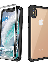 cheap -Case For Apple Applicable to Xs Max Three Anti-mobile Phone Case XR Protective Cover X Shatter-resistant Waterproof and Shockproof 6/7/8/6 Plus/7 Plus/8 Plus/11/11 Pro/11 Pro Max Protective Case