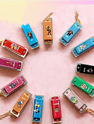 cheap -Kaine - (K4-2) Mini Key Chain Harmonica C key/4 Holes/8 Tones (Random Color)