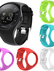 cheap -High Quality Comfortable Silicone Replacement Watch Band Wrist Strap for Polar M200 Smart Watch Wristband Strap