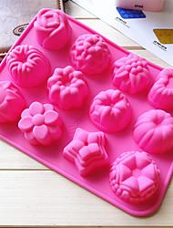 Недорогие -1шт силикагель Милый Многофункциональный Творческая кухня Гаджет Многофункциональный Лед Для приготовления пищи Посуда Прямоугольный Формы для пирожных Десертные инструменты Инструменты для выпечки