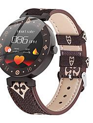 Недорогие -Жен. электронные часы На каждый день Мода Белый Коричневый Искусственная кожа Цифровой Белый + кофе Белый Защита от влаги Bluetooth Smart 30 m 1 комплект Цифровой