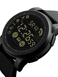 cheap -Men's Digital Watch Japanese Digital Black / Blue / Green 30 m Water Resistant / Waterproof Chronograph Creative Digital Outdoor New Arrival - Black Green Blue Two Years Battery Life