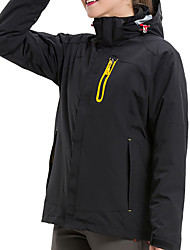 cheap -Women's Hiking Jacket Winter Outdoor Patchwork Waterproof Windproof Warm Comfortable Jacket Top Climbing Camping / Hiking / Caving Traveling Black / Fuchsia / Orange / Yellow / Green