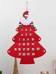 cheap -Christmas Ornaments Holiday Wooden Christmas tree Novelty Christmas Decoration
