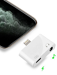 cheap -iPhone 11 Adapter Lightning to 3.5mmLightning Charging Music Calling Data Jack Converter For IOS 9/10/11/12/13