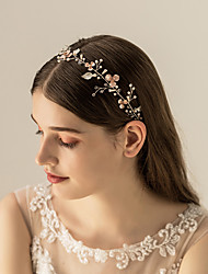 cheap -Other Material / Crystal / Alloy Headbands / Headdress with Crystal / Rhinestone / Metal 1pc Wedding / Party / Evening Headpiece