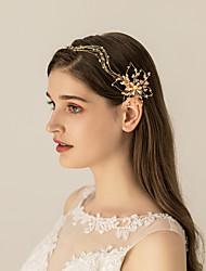 cheap -Alloy Headbands / Headdress with Metal 1pc Wedding / Party / Evening Headpiece