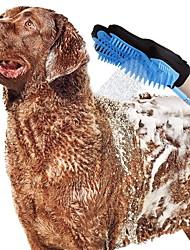 Недорогие -Собаки опрыскиватель Ополаскиватель разбрызгиватель Аксессуары для душа и ванной Полный силикон для тела Ванночки Прочный Животные Товары для ухода за животными Синий