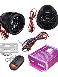 cheap -12V Anti-theft Motorcycle Alarm System MP3 FM SD USB Remote Engine Start2 Horns