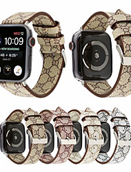 cheap -Fashion Real Leather Wristwatch Band Strap for Apple Watch iWatch Series 4 3 2 1