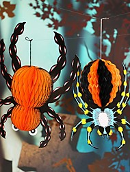 cheap -Halloween paper hanging spider design accessories night hanging ornaments for party Halloween decoration