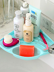 cheap -Kitchen Cleaning Supplies Plastic Sponge & Scouring Pad Storage Tools Creative Kitchen Gadget 1pc