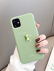 cheap -Case For Apple iPhone 11 / iPhone 11 Pro / iPhone 11 Pro Max Shockproof / Ultra-thin Back Cover Solid Colored / Animal / 3D Cartoon TPU