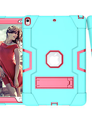 cheap -Case For Apple iPad Pro 11'' / iPad Pro 10.5 Shockproof / with Stand Back Cover Solid Colored TPU / PC