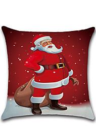 abordables -nouvelle série de noël thème coussin vente chaude pour se penchant sur la couverture d'oreiller lin