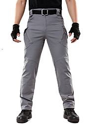 cheap -Men's Hiking Pants Hiking Cargo Pants Winter Outdoor Windproof Soft Stretchy Comfortable Cotton Pants / Trousers Bottoms Camping / Hiking / Caving Traveling Black Brown Green S M L XL XXL