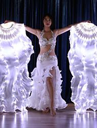 cheap -Dance Accessories Stage Props / Fan Veils Women's Performance 100%Silk LED