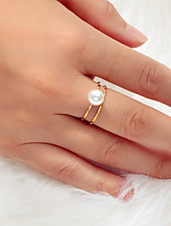 cheap -Women's Ring 1pc Gold Alloy Artistic Luxury Unique Design Wedding Engagement Jewelry Classic Dream Cool Lovely