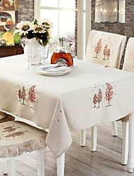 cheap -Casual polyester fibre Square Table Cloth Table Decorations