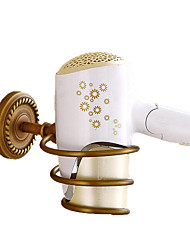 cheap -Hair Dryers Creative Antique / Traditional Brass Bathroom Wall Mounted