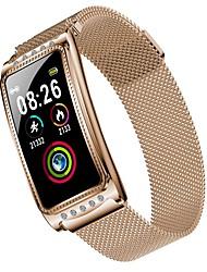 Недорогие -bozhuo f28s женщины умный браслет smartwatch android ios bluetooth водонепроницаемый монитор сердечного ритма измерение артериального давления спортивные калории сожгли ecgppg шагомер вызов