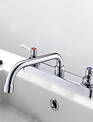 cheap -Two Handles Two Holes Multi-Ply Standard Spout Other Contemporary Kitchen Taps