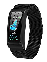 cheap -Women's Smartwatch Digital Modern Style Sporty Silicone 30 m Water Resistant / Waterproof Heart Rate Monitor Bluetooth Digital Casual Outdoor - Black Gold Silver