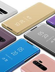 abordables -Etui de téléphone intelligent de luxe avec vue dégagée et miroir pour téléphone portable pour Xiaomi Redmi Note 8 Note 8 Note 7 Note 7 Note 7 Pro K20 K20 Pro