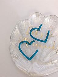 abordables -Femme Boucles d'Oreille Géométrique Cœur Des boucles d'oreilles Bijoux Fuchsia / Orange / Jaune Pour Cadeau Quotidien Festival 1 paire