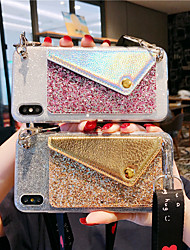 cheap -Case For Samsung Applicable to S10/S10 E/S10 Lite/S10 Plus Glitter Patch S9/S9 Plus Coin Purse With Lanyard S8/S8 Plus/S7/S7 Edge/S6/S6 Edge/S6 Edge Plus Diagonal Anti-drop Mobile Phone Case