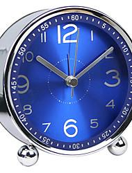 Недорогие -Часы Настольные часы и часы для полок Современный современный Пластиковые & Металл / Стекло / пластик Круглые